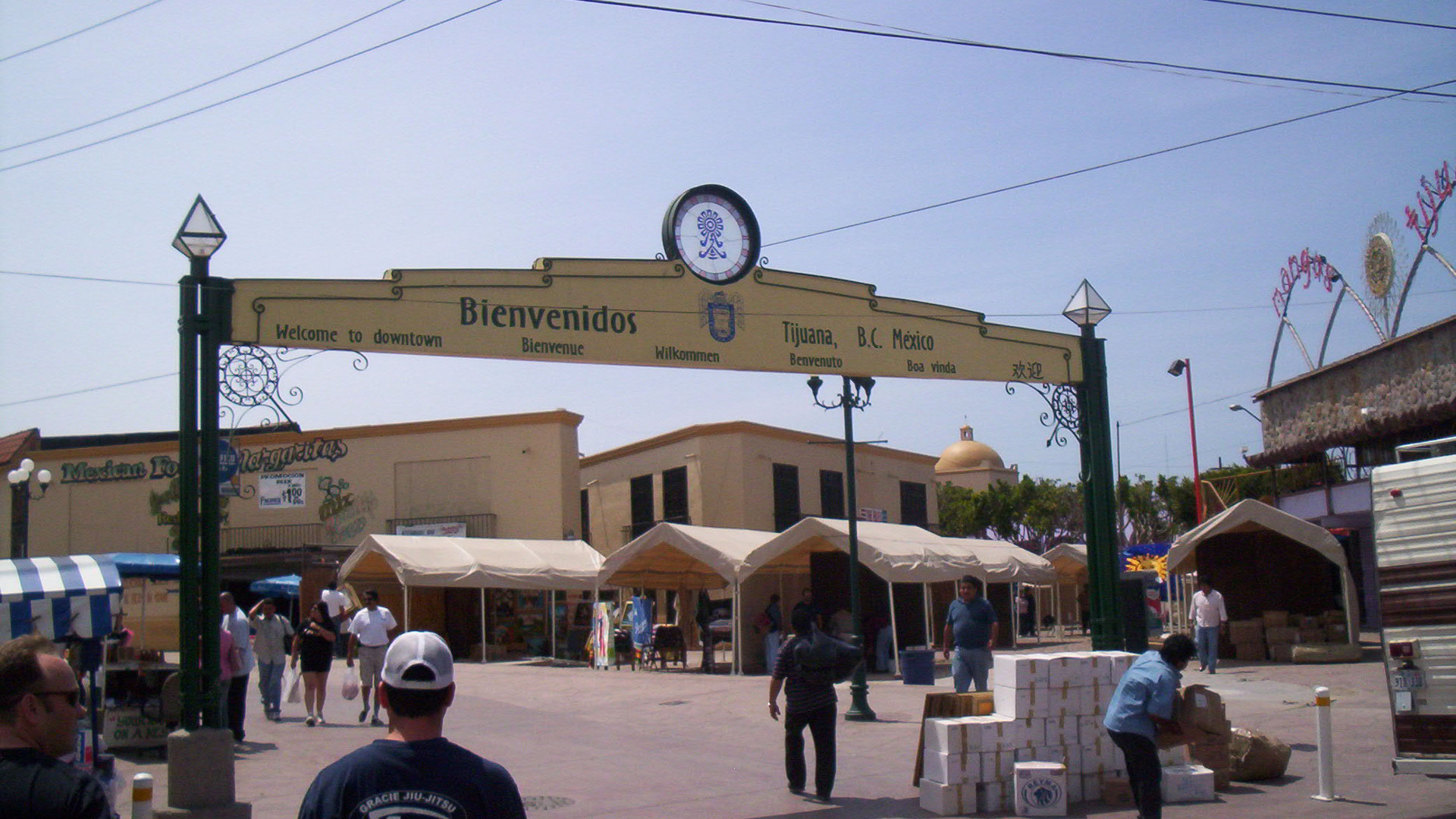 Tijuana Welcome Sign