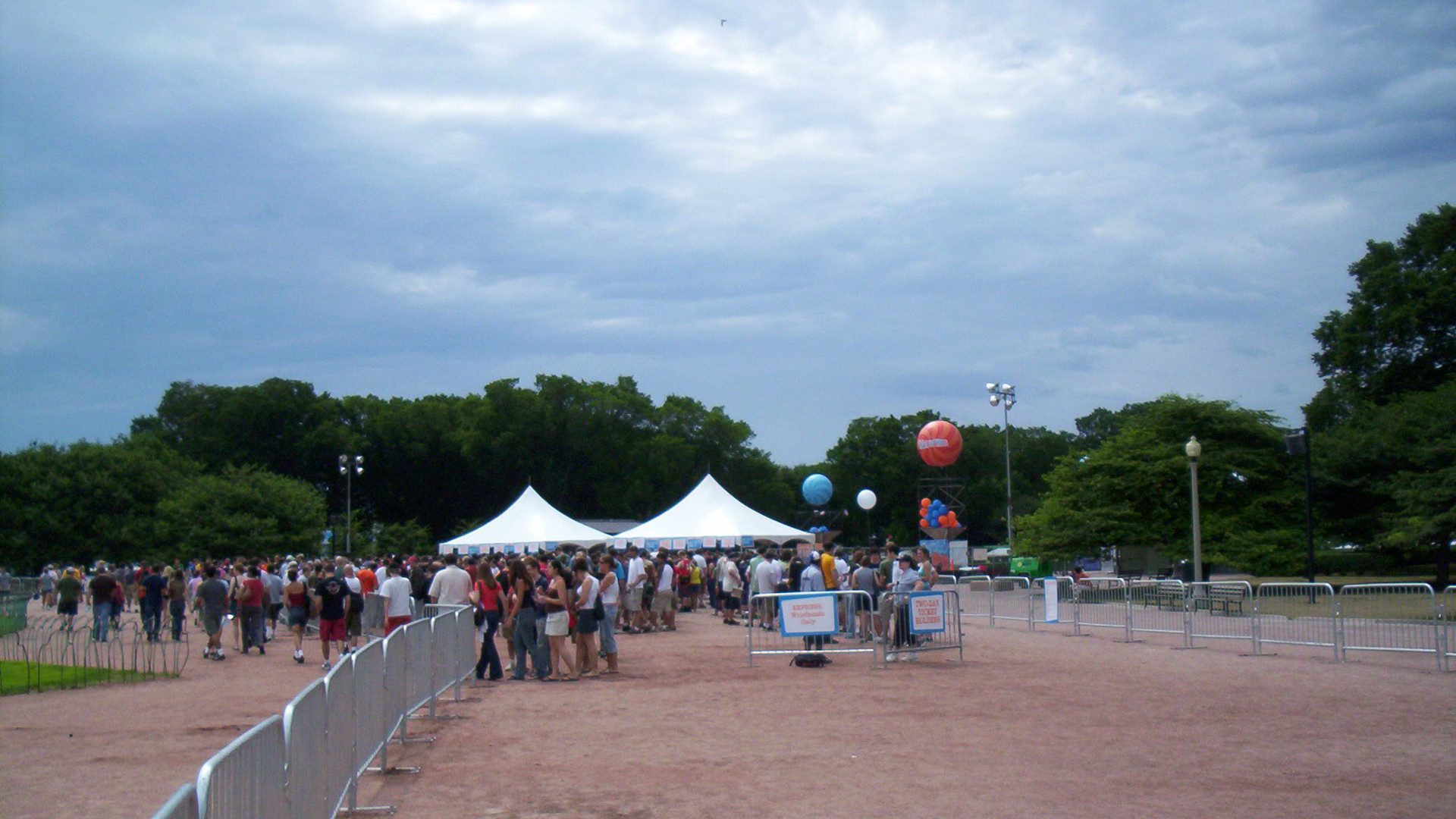 Lollapalooza Entry Gates