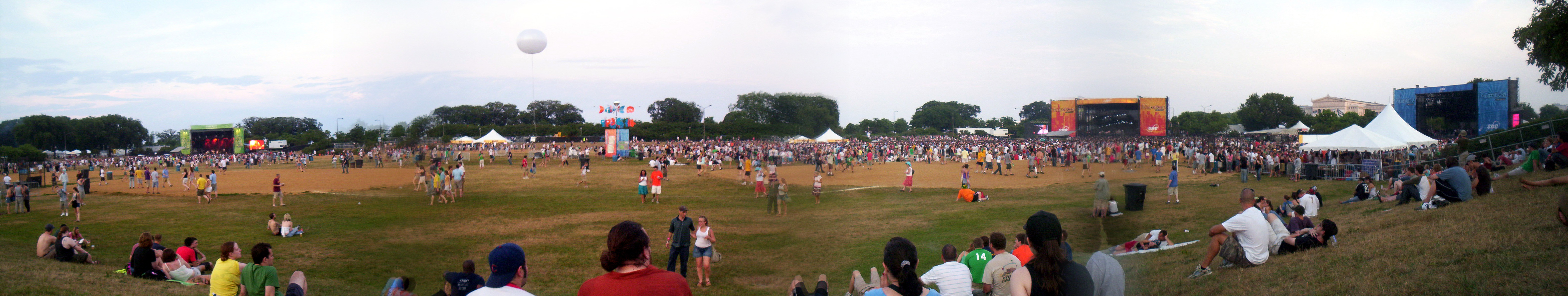 Lollapalooza Festival Grounds